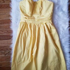 Davids Bridal Bridesmaid Dress - cotton sateen